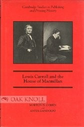 Cover of: Lewis Carroll and the House of Macmillan | Lewis Carroll