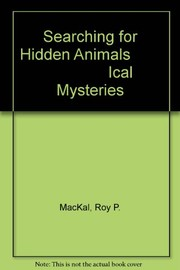 Cover of: Searching for hidden animals | Roy P. Mackal