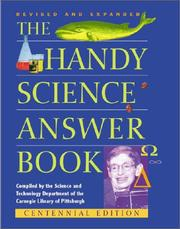 Cover of: The handy science answer book |