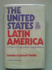 Cover of: The United States and Latin America