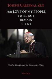 Cover of: For Love of My People I Will Not Remain Silent |
