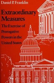 Cover of: Extraordinary measures