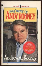 Cover of: And More by Andy Rooney