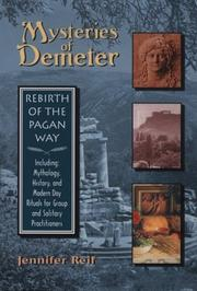Cover of: Mysteries of Demeter | Jennifer Reif