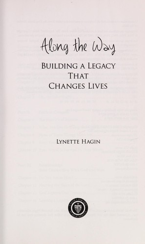 Along the way by Lynette Hagin