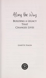 Cover of: Along the way | Lynette Hagin