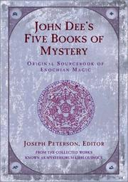 Cover of: John Dee's five books of mystery