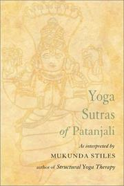 Cover of: Yoga sutras of patanjali | Patañjali.