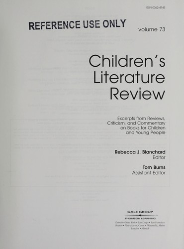 Children's Literature Review by