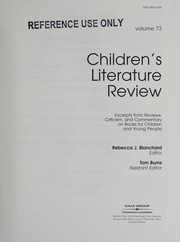 Cover of: Children's Literature Review |