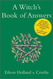 Cover of: A Witch's Book of Answers