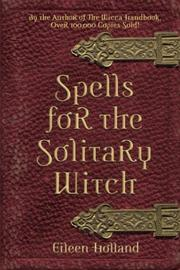 Cover of: Spells for the solitary witch