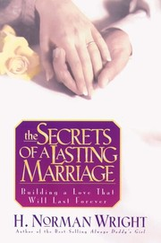Cover of: The Secrets of a Lasting Marriage