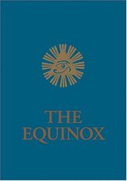 Cover of: The Equinox