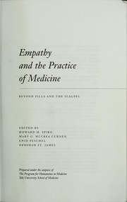 Cover of: Empathy and the Practice of Medicine |