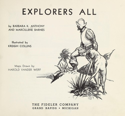 Explorers all by Barbara K. Anthony