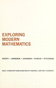 Cover of: Exploring modern mathematics