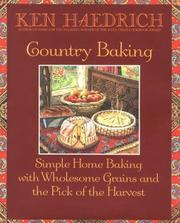 Cover of: Country Baking | Ken Haedrich
