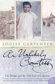 Cover of: An Unlikely Countess | Louise Carpenter