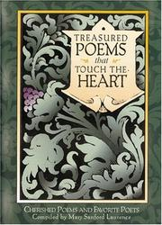 Cover of: Treasured Poems that Touch the Heart | Mary Sanford Laurence