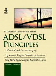 Cover of: ADSL/VDSL principles