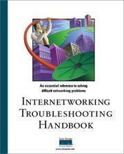Cover of: Internetworking troubleshooting handbook |