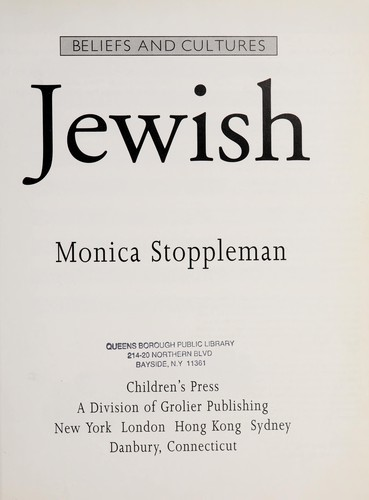 Jewish by Monica Stoppleman