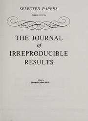 Cover of: The Journal of irreproducible results |