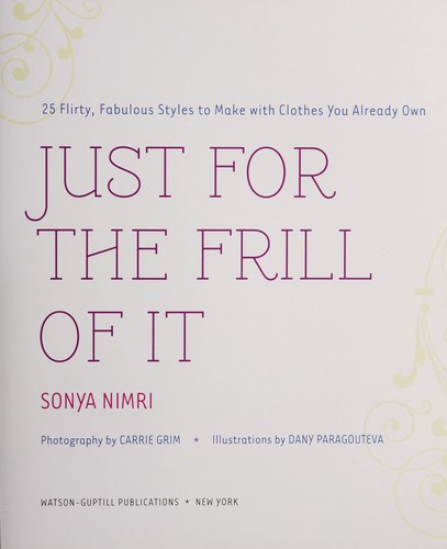 Just for the frill of it by Sonya Nimri
