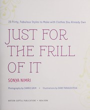 Cover of: Just for the frill of it | Sonya Nimri