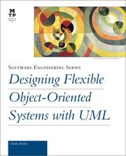 Cover of: Designing Flexible Object-Oriented Systems with UML by Charles Richter