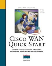 Cover of: Cisco WAN Quick Start | Ronald W. McCarty