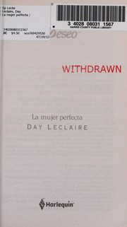 Cover of: La mujer perfecta | Day Leclaire