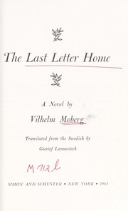 Cover of: The last letter home: a novel