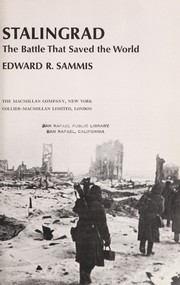 Cover of: Last stand at Stalingrad | Edward R. Sammis