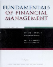 Cover of: Fundamentals of financial management | Eugene F. Brigham
