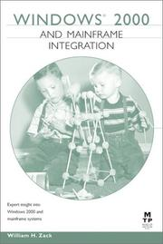 Cover of: Windows 2000 and Mainframe Integration | William H. Zack
