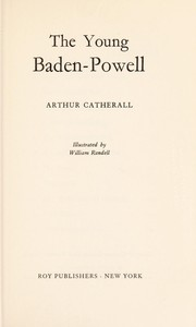 Cover of: The young Baden-Powell | Catherall, Arthur, 1906-