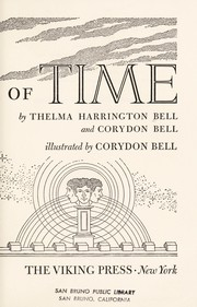 Cover of: The riddle of time | Thelma Harrington Bell