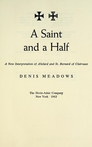 Cover of: A saint and a half | Denis Meadows