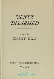 Cover of: Venus disarmed | Jeremy Dole