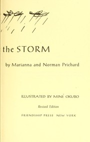 Cover of: Ten against the storm | Marianna (Nugent) Prichard