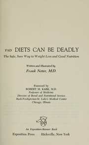 Cover of: Fad diets can be deadly