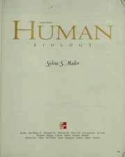 Cover of: Human biology