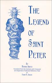 Cover of: The legend of Saint Peter: a contribution to the mythology of Christianity