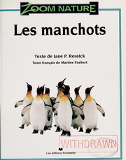 Cover of: Les manchots | Jane Parker Resnick