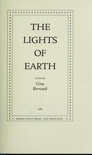 Cover of: The lights of earth : a novel