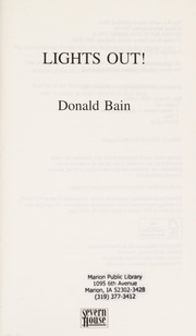 Cover of: Lights out! | Donald Bain