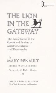 The lion in the gateway