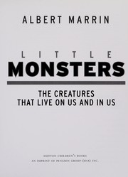 Cover of: Little monsters